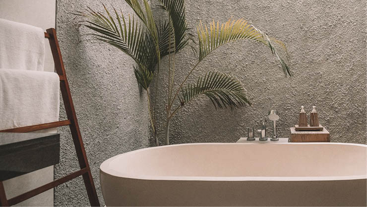 Bathroom design and coverings