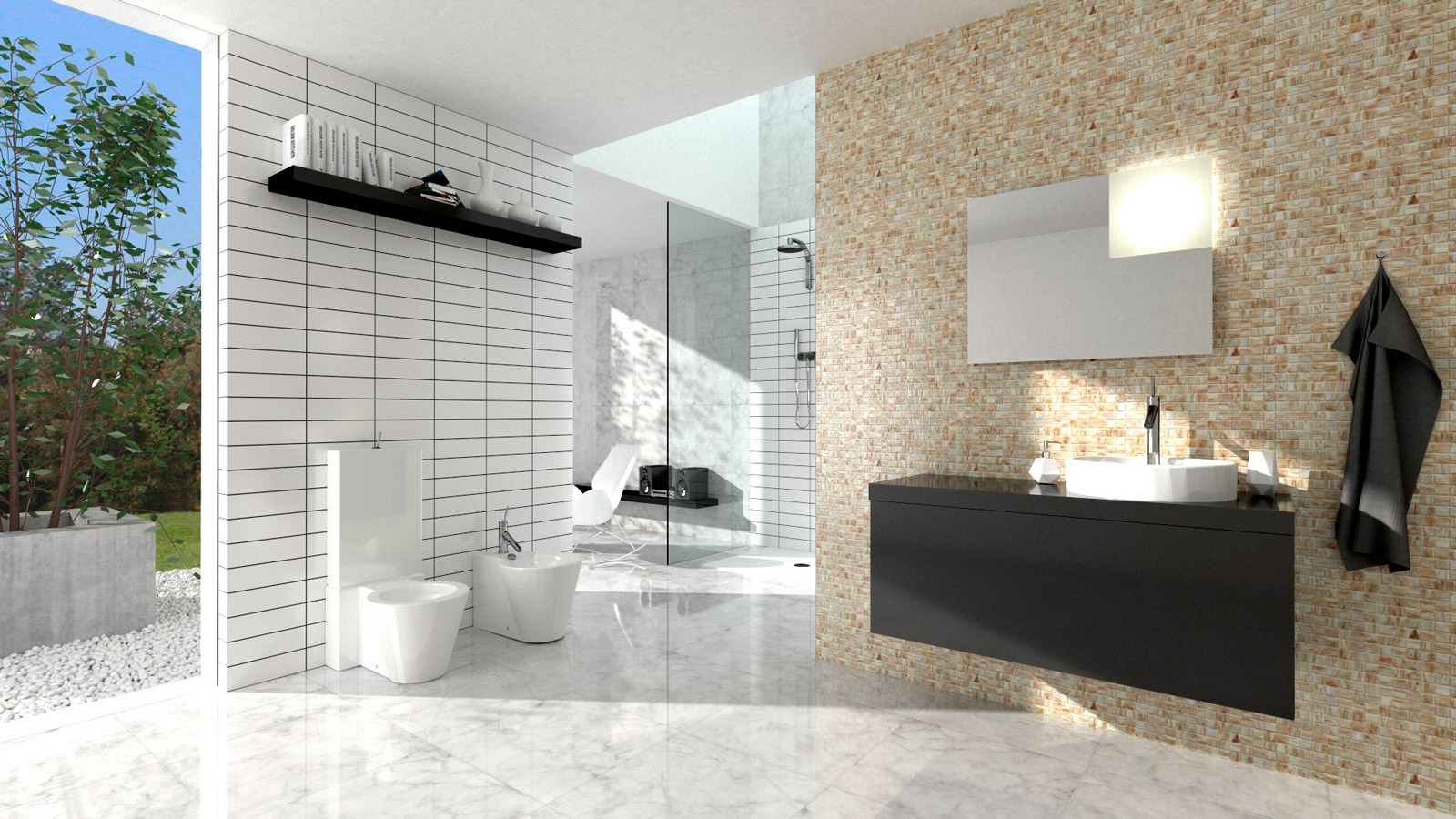 Software Arredamento Interni Gratis software rendering 3d per arredamento bagno e rivestimenti