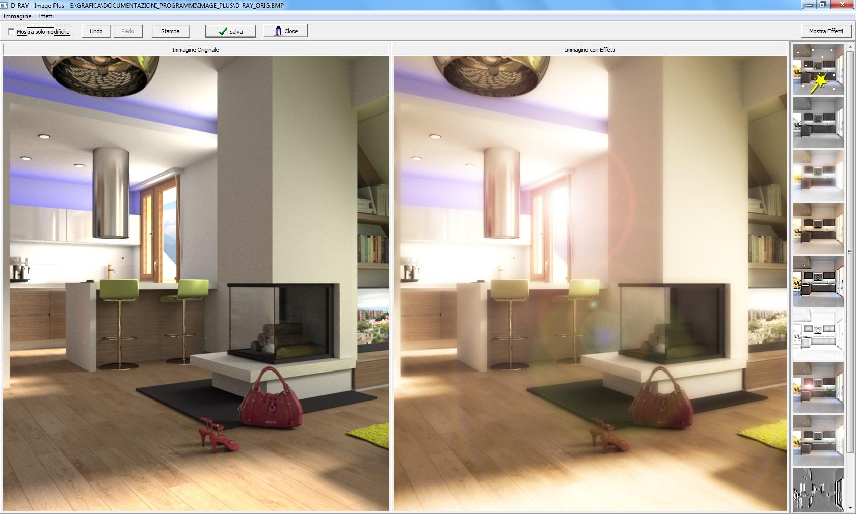 Funzionalit arredocad designer software 3d per for Software arredamento