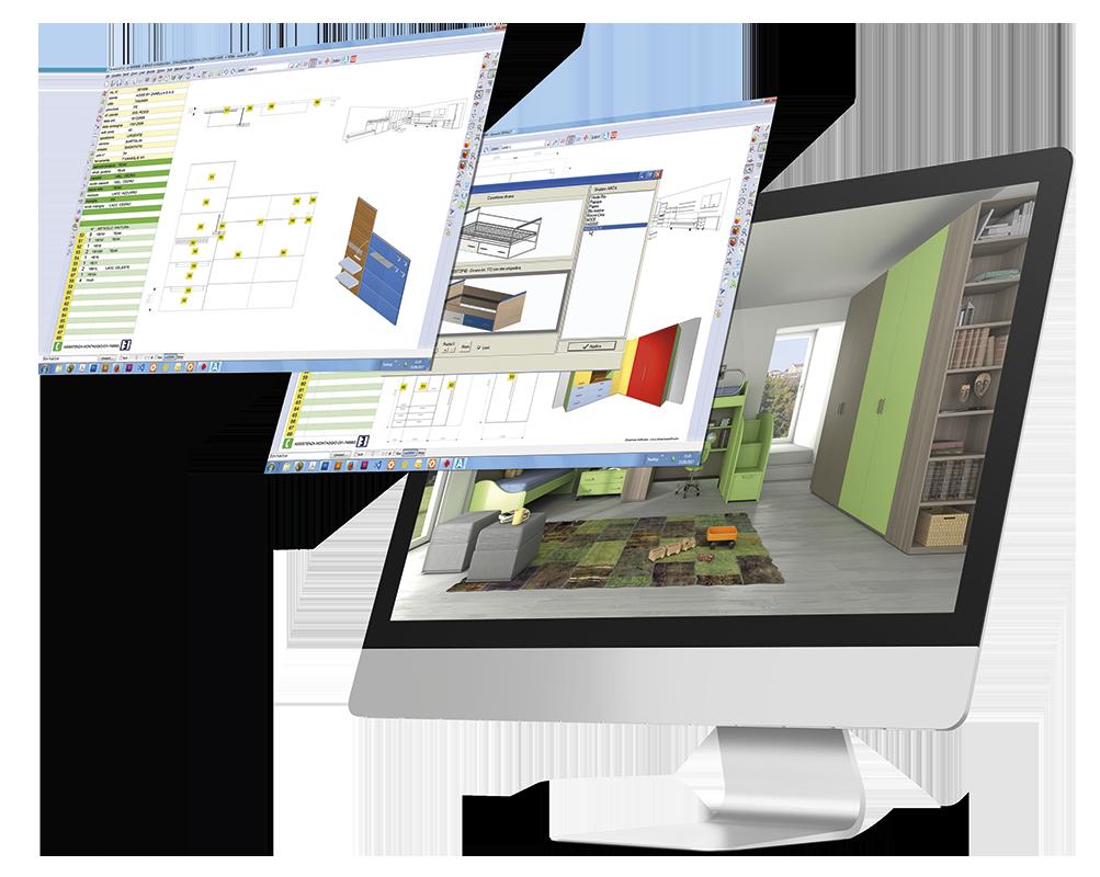 Produttori funzionalit arredocad produttori for Software arredamento gratis