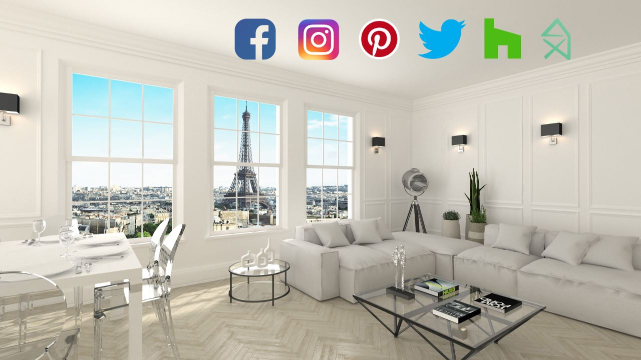 6 Social Media for Architects and Interior Designers