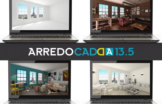 ARREDOCAD DESIGNER 13.5: si aggiornano gli archivi grafici grazie alle nuove partnership
