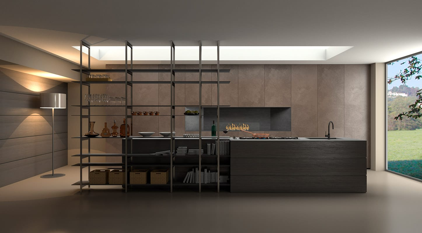 Designer Kitchens Made in Italy: Concepts and Trends.