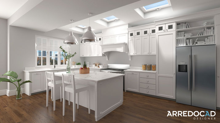 Kitchen with central island: impress your clients with stunning new design ideas