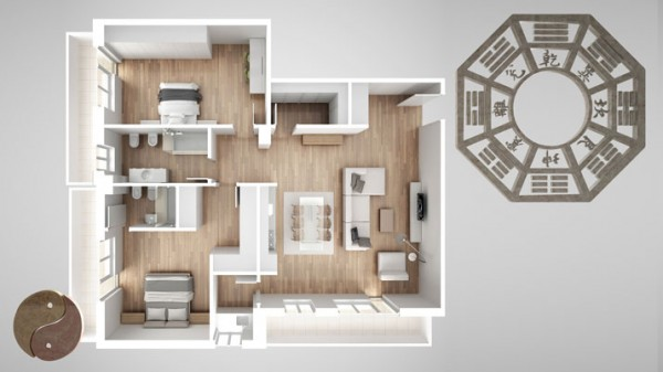 Feng shui Design: the perfect home and the wellbeing in your living space